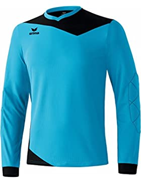 erima Torhüter Glasgow Torwarttrikot - Camiseta, color azul / negro (curacao/schwarz), talla DE: 152
