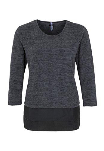 Million X Femme shirt melange anthracite foncé