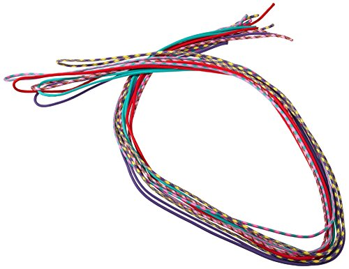 Paracord des ficelles trie dans les couleurs différentes