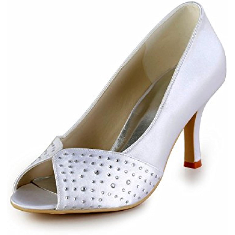 MINITOO ,  s pour White-8cm Femme - Blanc - White-8cm pour Heel, - B074RK2H77 - b46c1d