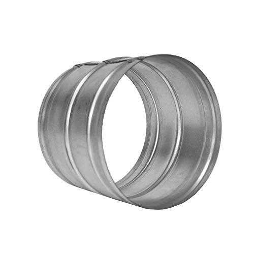 Jonction de gaine alu 160 mm mâle/mâle - conduit de ventilation Winflex