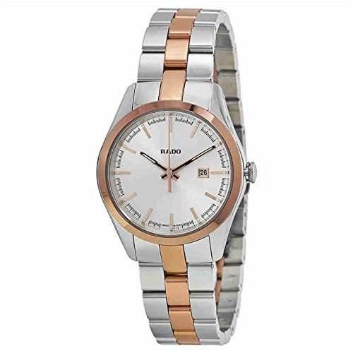 Rado Hyperchrome Womens stainless steel and rose gold PVD Quartz watch R32976102