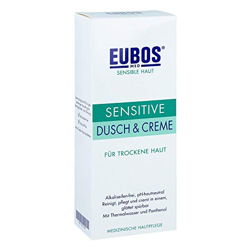 EUBOS SENSITIVE Dusch & Creme, 200 ml