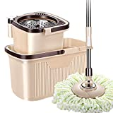 Vadrouille multifonction amovible et lavable vadrouille rotative, seau à vadrouille...