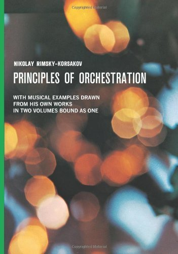 Principles of Orchestration (Dover Books on Music) by Korsakov, N.Rimsky- (1965) Paperback