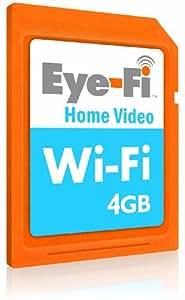 Eye-Fi Home Video 4GB Wireless SDHC Memory Card