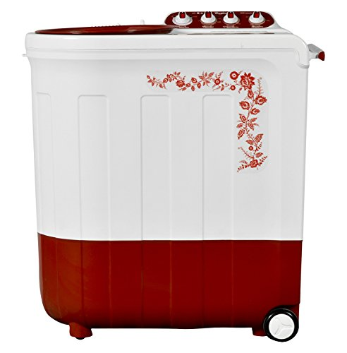 Whirlpool 8.5 kg Semi-Automatic Top Loading Washing Machine (Ace Turbodry 8.5, Coral Red)