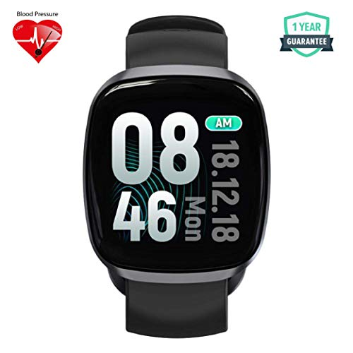 WearFit GT-103 Health and Fitness Tracker Watch | Activity Tracker | Fitness Band | Rugged Fitness Tracker with Heart Rate, Blood Pressure/Oxygen Monitor & Big Color Display