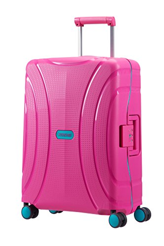 American Tourister Lock'N'Roll spinner, Rosa (Summer Pink), S (55cm-37L)