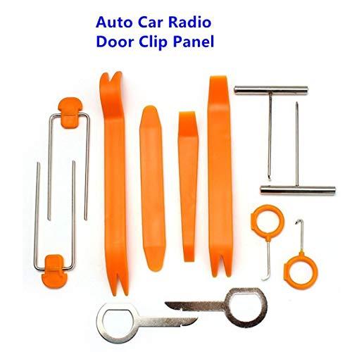 cioler El Panel Auto portátil práctico Durable del Clip de la Puerta de la Radio de Coche Enganches de Remolque y Accesorios