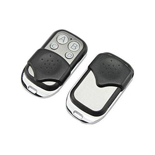 Fernbedienung RF KEYFOB für Garagentor/Portal/Alarm/Auto 433MHz Silber