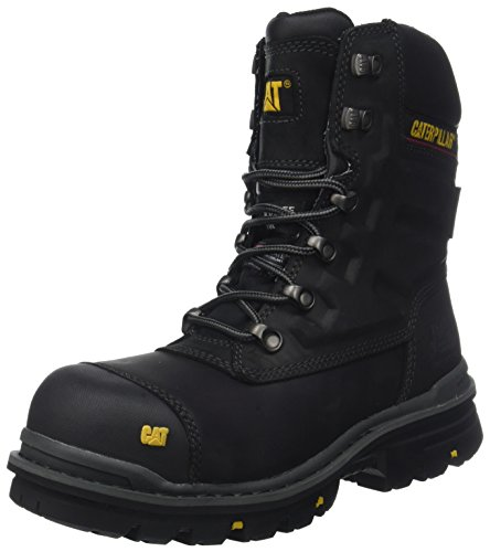 Caterpillar Premier 8 WR TX Ct S3 HRO SRC, Scarpe Antinfortunistiche Uomo, Nero Mens Black, 42 EU