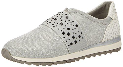 Jana Damen 24612 Slipper, Grau (LT. Grey 204), 40 EU