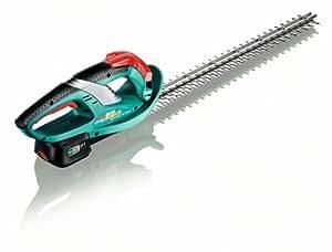 Bosch Taille-haies sans fil AHS 52 LI, lame 52 cm, coupe 15 cm,  1 batterie 18V 2,0 Ah, technologie Syneon 0600849200