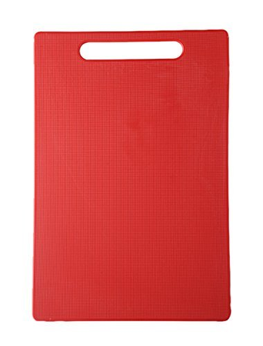 Slings Eco-Friendly Chopping Cutting Board With Handle, 40 X 25Cm (Red) Large Size  available at amazon for Rs.299