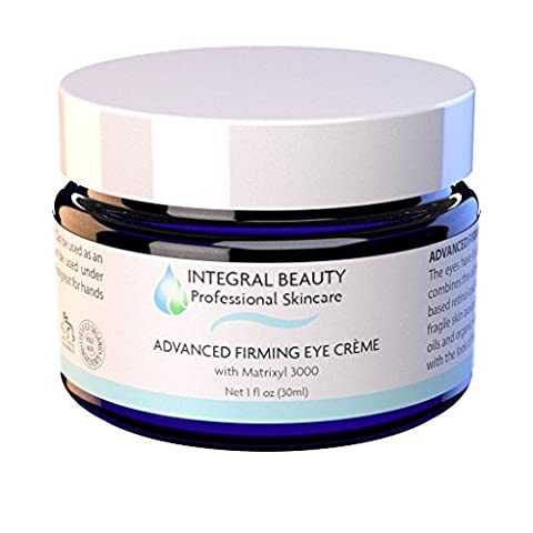 Eye Cream for Wrinkles, #1 Eye Firming Cream - Anti Aging Cream For Dark Circles & Puffiness - Eye Lift Formula. Matrixyl 3000, Peptides & Retinol, Firms, Rejuvenates, Repairs and Soothes the Skin by Integral Beauty