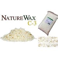 2kg Naturewax C3/C-3Réservoir à cire de bougie de soja,–100% naturel de soja/cire de soja