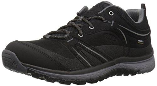 KEEN Terradora Leather WP Shoes Women Black/Steel Grey Schuhgröße US 8,5 | EU 39 2019 Schuhe (Winter Keen)