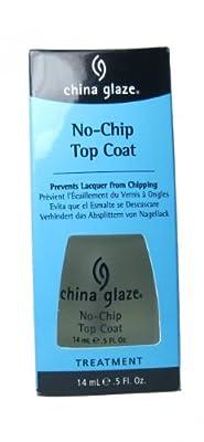 China Glaze No Chip Top Coat W/Bx .5Oz - TBP72027