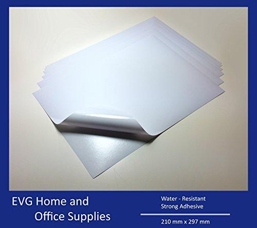 10-feuilles-blanc-a4-impermeable-en-vinyle-brillant-adhesif-autocollant-de-qualite-laser-imprimable