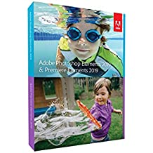Adobe Photoshop Elements 2019 & Premiere Elements 2019 | Standard | PC/Mac | Disque