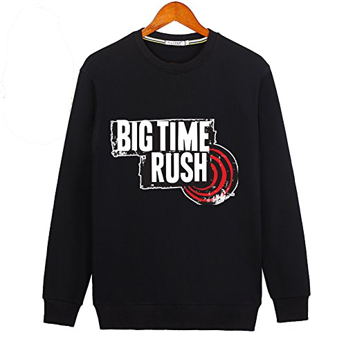 BIG TIME RUSH For Ladies Womens Crew Long Sleeve Sweatshirt Pullover Outlet