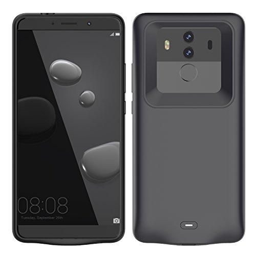 fitmore Huawei Mate 10 Pro Ah Ultra dünnes Akku Case Hülle Handyhülle [Anti-Rutsch] [Stoßfest] Batterie Case eingebautem Akku für Huawei Mate 10 Pro Multi Power Battery Grip