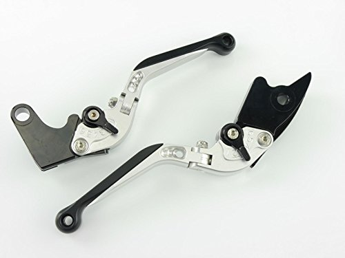 CNC Hebel klappbar Yamaha YZF-R125 RE06 2008-2011 silber