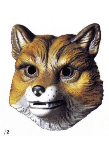 �–001–Kostüm–Maske Fabel von la Fontaine Fuchs (Fuchs-maske Kostüm)