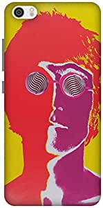 The Racoon Lean lennon hard plastic printed back case / cover for Xiaomi Mi 5