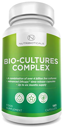 """Bio-Cultures with TIME RELEASE capsules 