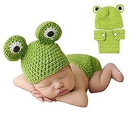 Bonita ropa para fotos de bebé para bebés de 0 a 6 meses.