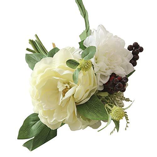 Dvhblxux Artificielle Mariée Faux Fleurs Feuille Floral De Mariage Décor Branch Fake Flowers Simulation Home Decor Fausse DIY