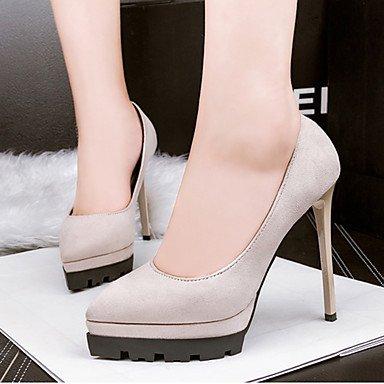 Moda Donna Sandali Sexy donna tacchi Primavera / Estate / Autunno / Inverno / Tacchi scarpe e borse di corrispondenza / Novità / LeatheretteWedding Black