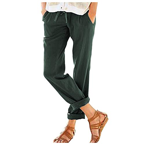 RISTHY Pantalones Mujer Elegantes Largos Pantalones