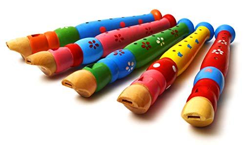 Elagon Kinder / Anfänger Blockflöte aus. Ein großartiges Instrument für Kinder. Spaßig und bunt mit wunderschönem Ton. Kommt in verschiedenen Mustern und Farben (Farben und Muster durch Zufall ausgewählt).