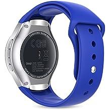 MoKo Gear S2 Watch Correa, Silicona Suave Correa Reemplazo Deportiva para Samsung Galaxy Gear S2