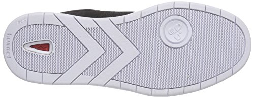 Hummel Hml Stadil Canvas Lo, Baskets Basses mixte adulte Noir - Noir