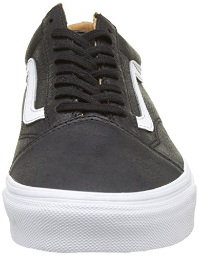 Vans Herren Ua Old Skool Sneakers Schwarz (Premium Leather Black/true White)