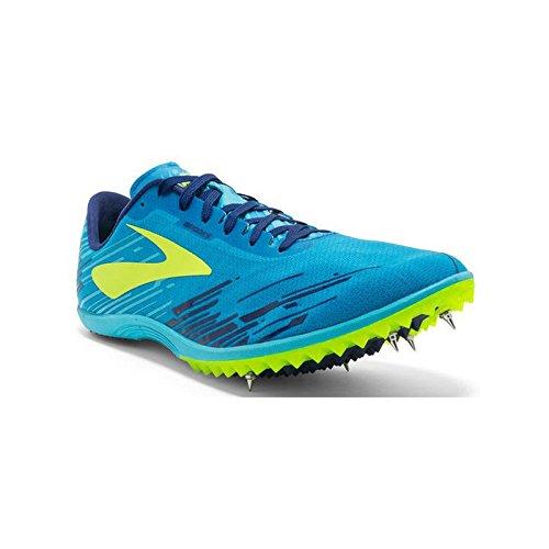 Brooks Mach 18, Chaussures de Running Compétition Homme Bleu
