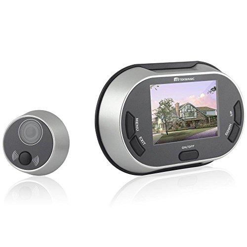 "EMEBAY - 3.5 ""Judas de porte numérique Viewer porte caméra 150 ° Angle de vue large Auto Snapshot"