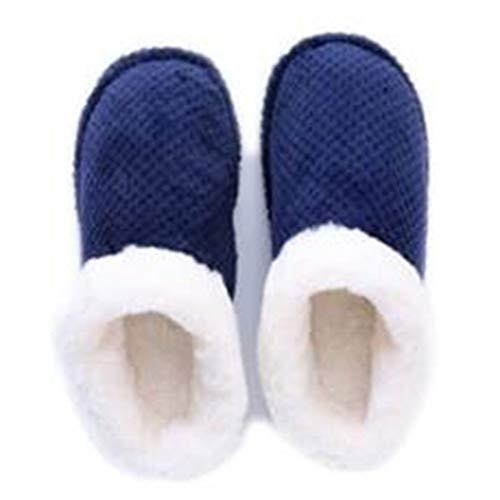 Hualq g6603 autunno e in inverno paio pantofole in cotone pantofole calde pantofole spessa caldo con