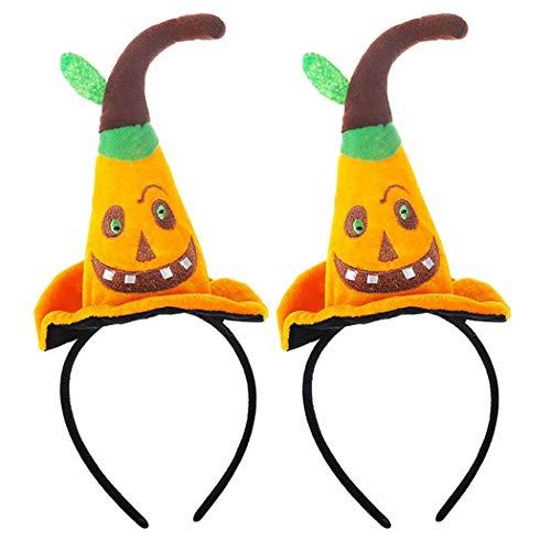 ZOYLINK 2 StÜcke Halloween Haarband Kreative Hexenhut Party Stirnband Kostüm Stirnband