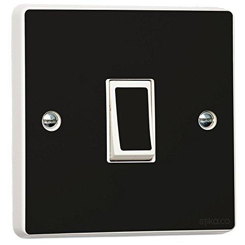 Buy Plain Gloss Black Vinyl Sticker Skin For Light Switch