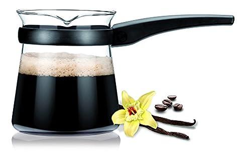 Glas Türkisches Kaffeekännchen Teo 0,5l (Französisch Dish)