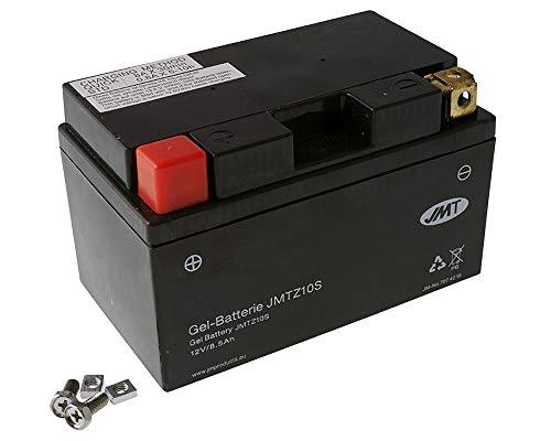 JMT GEL - YTZ10S 12 Volt Batterie für CB F Hornet 900, CBR 929/945 RR Fireblade 900, CB R 1000 (inkl. 7,50€ Batteriepfand)