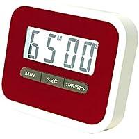 LAAT 1pc Temporizador de Cocina Digital Temporizador de Cocina Cuenta Atrás-Reloj Up Reloj Temporizador de Alarma Grande Pantalla Grande