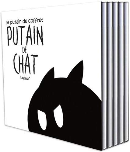 Putain de chat T01 -T05: Coffret par Lapuss'
