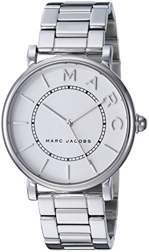 Marc Jacobs Women's Roxy MJ3521 Silver Stainless-Steel Quartz Fashion Watch