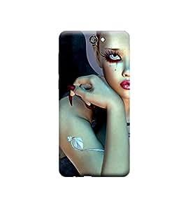 Ebby Premium Printed 3D Designer Back Case Cover For HTC One A9 (Premium Designer Cae)
